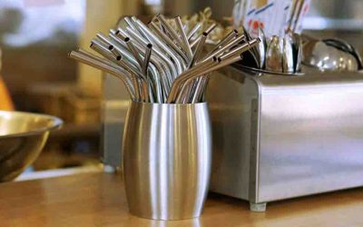 Cleaning Reusable Straws At Bars & Restaurants